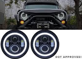 headlights jeep wrangler jk led headlights led headlights for jeep jk accessories for