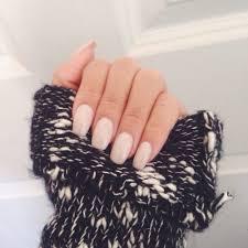 love my matte black almond nails yelp
