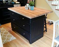 kitchen island with butcher block top butcher block kitchen island roselawnlutheran