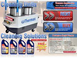 Carpet Cleaning Machines For Rent Thermax Rentals Inc Rent The World U0027s Best Carpet U0026 Upholstery