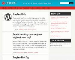 40 free personal blog wordpress themes