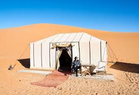 desert tent checking in merzouga luxury desert c morocco our world