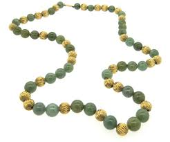 jade with gold necklace images Best gold jade necklace photos 2017 blue maize jpeg