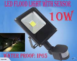 Ter Proof Light Fixtures Led Sensor Security Light 10w Trade Me