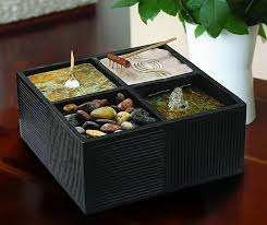 Tabletop Rock Garden Tranquila All In One Zen Garden The Green