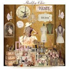 shabby chic store window polyvore