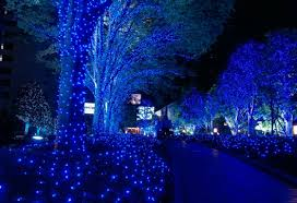 Blue Christmas Decorations The Range by Led Property Decoration For The New Year Decor Advisor