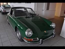 1968 porsche 911 targa for sale 1968 porsche 911 l window targa green 6806 with black
