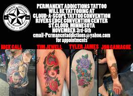 tattoo convention st cloud permanent addictions tattoo permanent addictions tattoo sioux falls sd