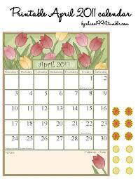 printable april 2011 calendar by xhiao1994 on deviantart