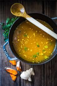 turmeric broth detox soup feasting at home