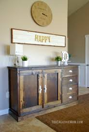 How To Build A Buffet Cabinet by 2x4 Farmhouse Bench Build It For Less Than 20 The Creative Mom
