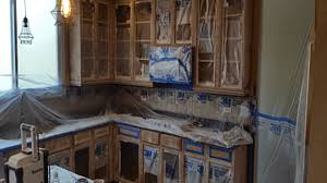 can you paint kitchen cabinets and walls the same color how to mask wall cabinets for spray painting dengarden