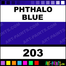 phthalo blue finest artists watercolor paints 203 phthalo blue