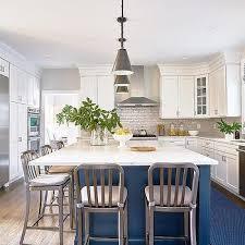 navy blue kitchen island ideas navy kitchen island design ideas