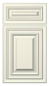 cambridge door style painted antique white kitchen inside white