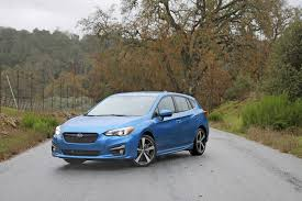 2017 subaru impreza hatchback trunk review 2017 subaru impreza is a confidence builder as first made
