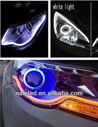 led daylight strip light car accessories flexible led strip light daylight headlight car