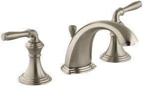 how to install a kohler kitchen faucet kohler k 394 4 cb polished chrome polished brass devonshire