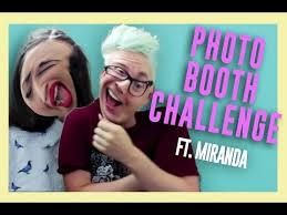 Challenge Miranda Sings The Photobooth Challenge Ft Mirandasings Oakley