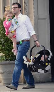 chelsea clinton and husband marc take the kids out in nyc daily