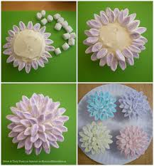 25 marshmallow flowers ideas cupcake