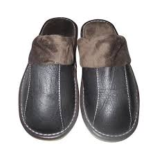 mens leather bedroom slippers cheap leather slippers mens find leather slippers mens deals on