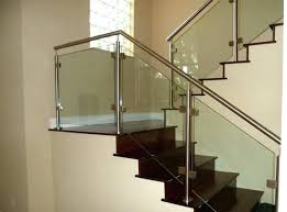 Glass Stairs Design Glass Stair Railing Glass Stair Railing Contemporary Staircase