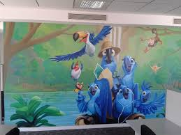 beautiful hand painted mural and wall art affordable price chennai image 1 image 2