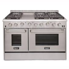 Sealed Burner Gas Cooktop Kucht Pro Style 48 In 6 7 Cu Ft Natural Gas Range With Sealed