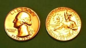 1776 to 1976 quarter free 24k gold plated bicentennial 1776 1976 drummer boy