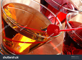 cocktail drinks tilted composition cocktail drinks backlighting abstract stock