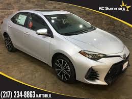 new 2018 toyota corolla se 4d sedan in mattoon t25204 kc