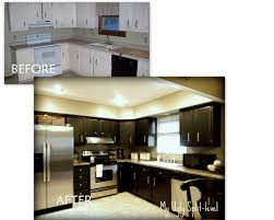 how to level kitchen base cabinets my ugly split level the kitchen split level kitchen remodel before
