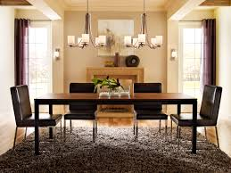 dining room design exciting twin linear chandelier with rustic