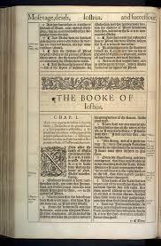 the booke of ioshua original 1611 kjv