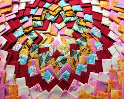 karen griska quilts pine burr quilt is finished