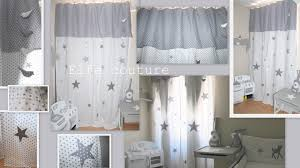 déco chambre bébé gris et blanc rideaux chambre garcon idées décoration intérieure farik us