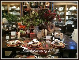 pottery barn thanksgiving embellishments by slr pottery barn tablescape in charleston