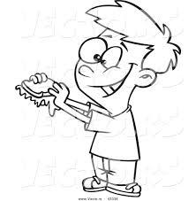 eating sandwich clipart 31