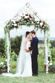 wedding arches meaning modern botanical wedding inspiration protea flower arch and flower