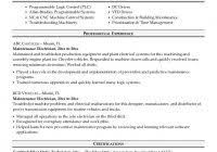 Sample Resume Electrician by Electrician Sample Resume Example 8 Ilivearticles Info