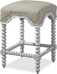 paula deen by universal dogwood kitchen stool with bobbin legs