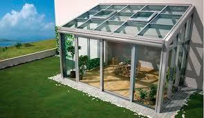 verande alluminio veranda autoportante in vetro in alluminio feal croatia ltd