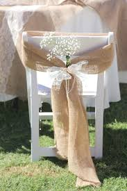 how to make chair sashes best 25 burlap chair sashes ideas on wedding chair