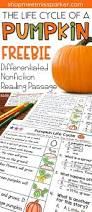 Thanksgiving Comprehension Passages Free Nonfiction Differentiated Reading Passage For First Grade