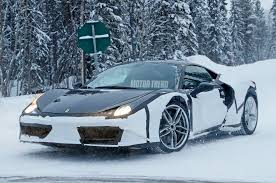future ferrari supercar spied could this be a prototype for a future ferrari dino photo