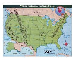 United States Map With Oceans by Maps Of The Usa The United States Of America Political