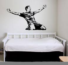 steven gerrard wall art sticker english football player decal steven gerrard wall art sticker english football player decal sports mural wa094