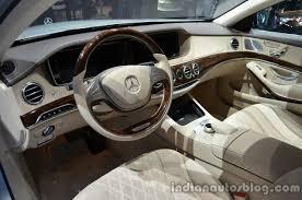 2014 mercedes s class interior 2014 mercedes s class s500 in hybrid interior indian autos